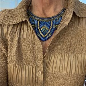 Beautifully beaded necklace, Exquisite design.